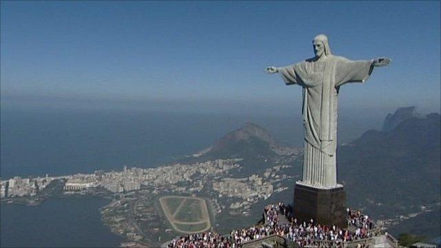 Cristo Redentor in Rio de Janeiro