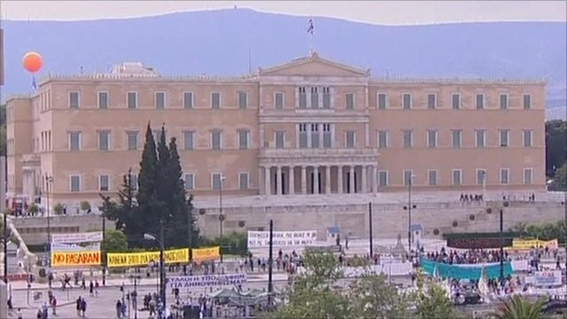 Parliament in Athens