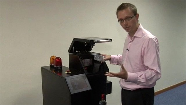 New liquids scanner