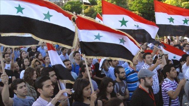 Syrian peace demo