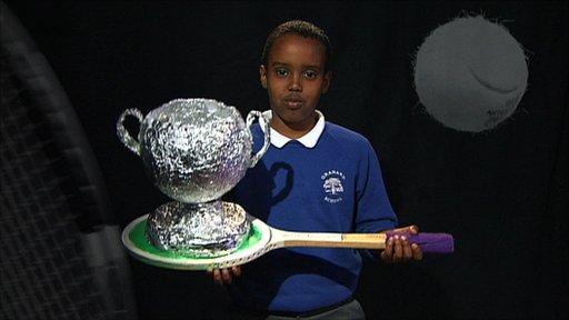 Children and artists celebrate Wimbledon 125th anniversary
