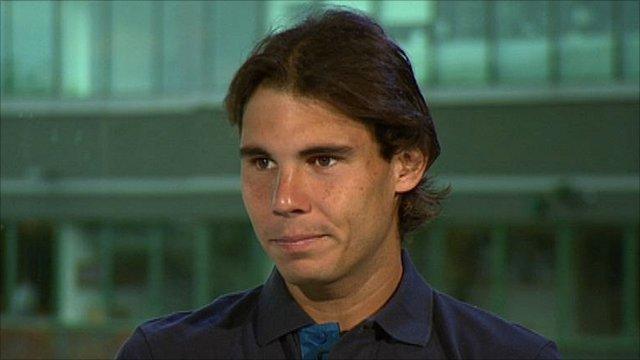 World number one Rafael Nadal