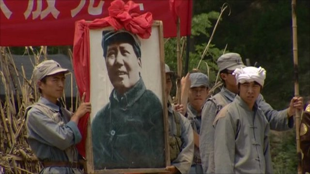 Chinese Communist re-enactment