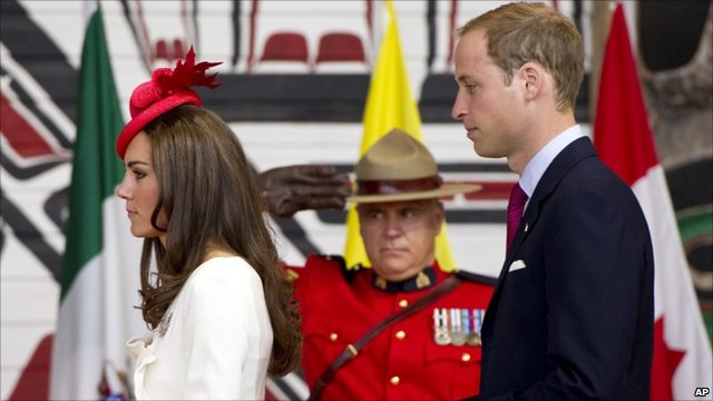 Thousands of Canadians have turned out in Ottawa to see the Duke and Duchess of Cambridge, as they take part in Canada Day celebrations during their first overseas tour as a couple.