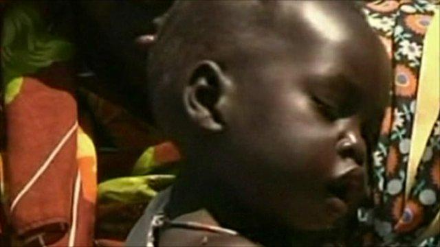Child in S Sudan