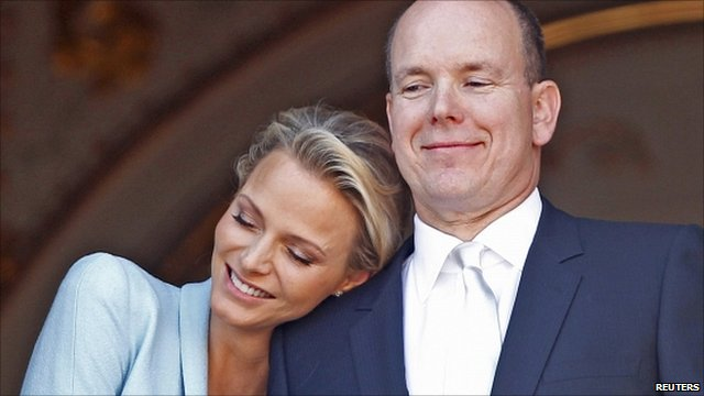 Prince Albert II of Monaco and Princess Charlene