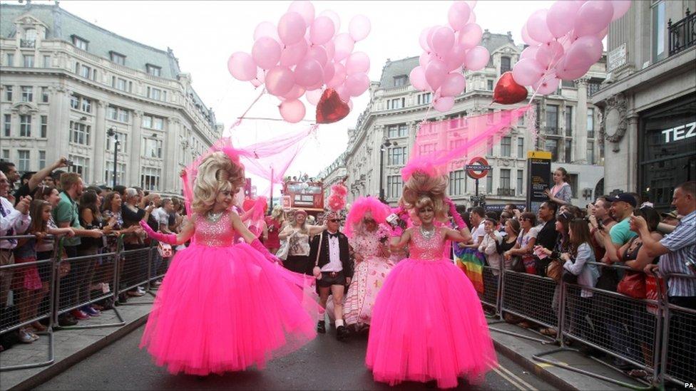 from Leighton gay parade london uk