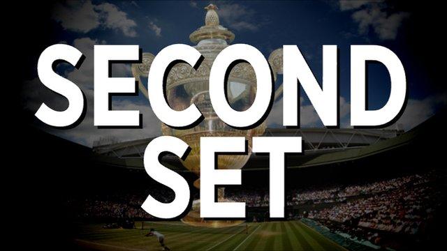 Nadal v Djokovic - Second set highlights