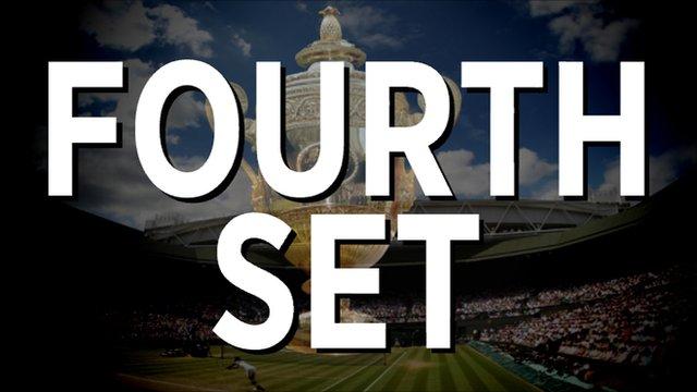 Nadal v Djokovic - Fourth set highlights