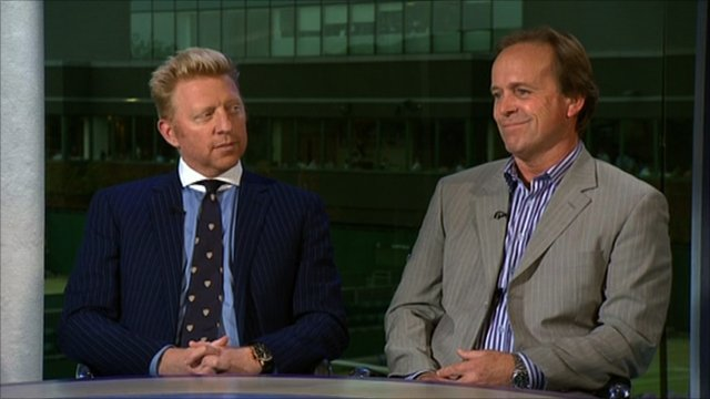 BBC pundits on Wimbledon men's final