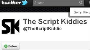 Script Kiddies account