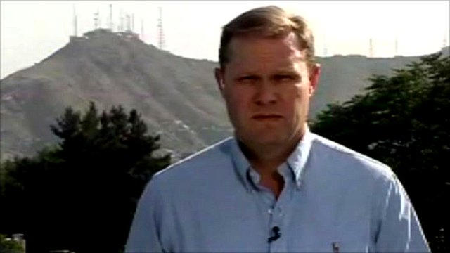 BBC reporter Paul Wood