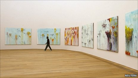 Cy Twombly works