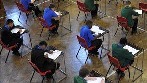 Examination hall
