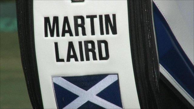 Martin Laird's golf bag