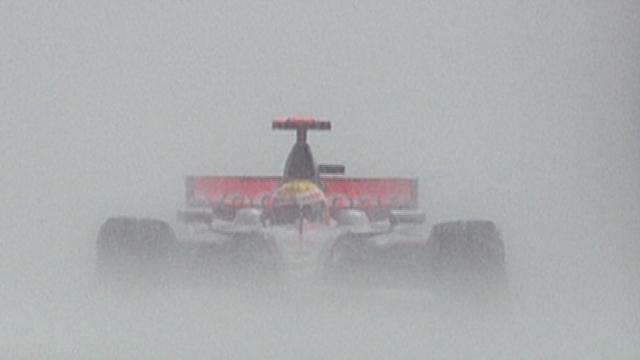 Lewis Hamilton in 2008