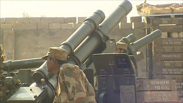 Pakistani military