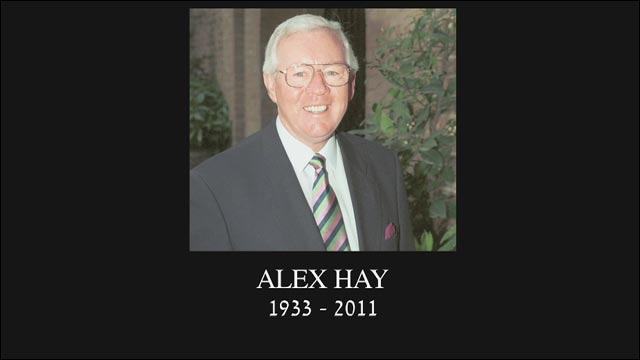 Peter Alliss leads tributes to Alex Hay
