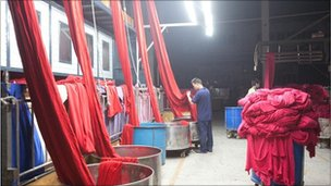 Cloth at the Well Dying Factory Limited.