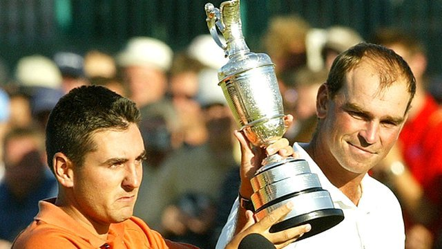 Ben Curtis and Thomas Bjorn in 2003