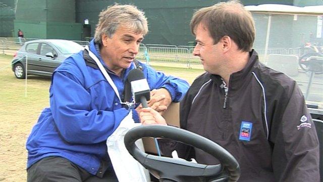 John Inverdale talks to Conor McNamara