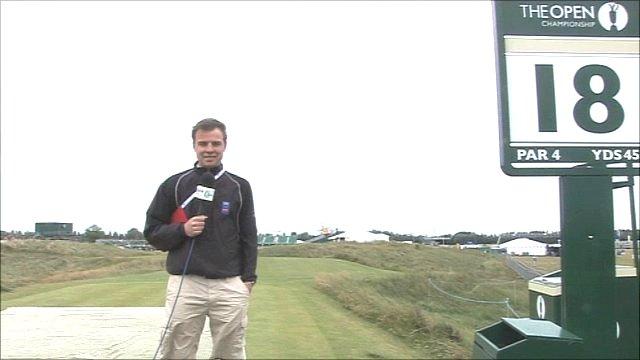 BBC Radio 5 live's Conor McNamara on the 18th
