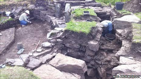 Broch. Pic: AOC Archaeology