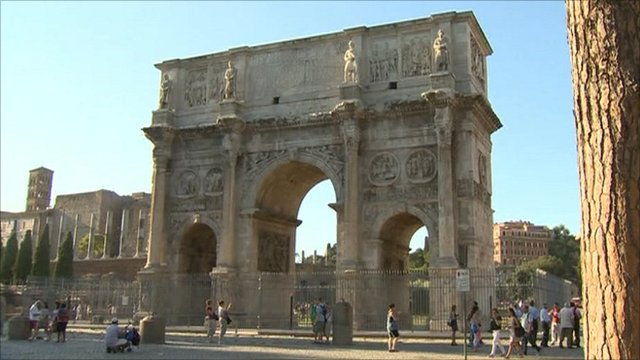 Ancient monument in Rome