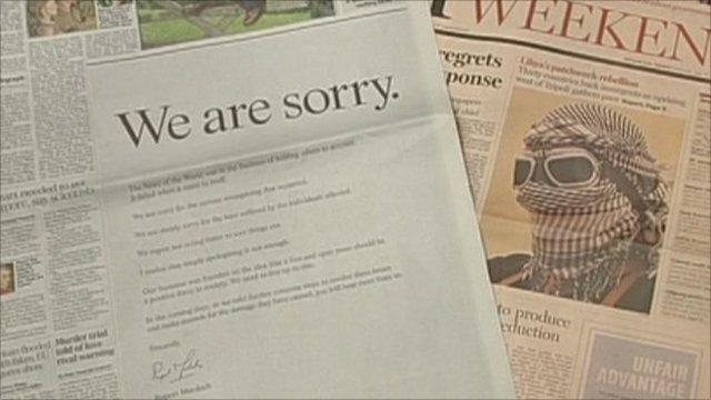 News International apology