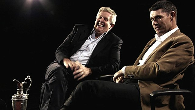Colin Montgomerie and Padraig harrington