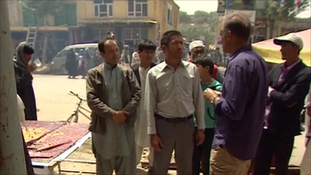 Jonathan Beale in Bamiyan