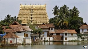 Shree Padmanabhaswamy temple, Kerala, India