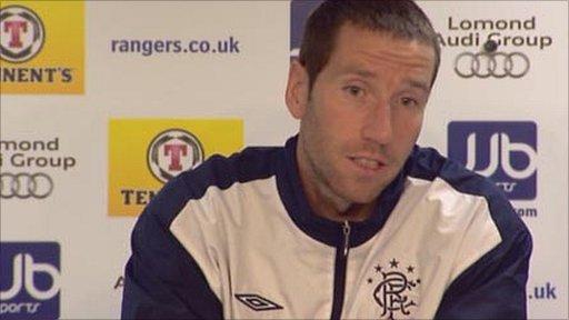 Rangers defender Kirk Broadfoot
