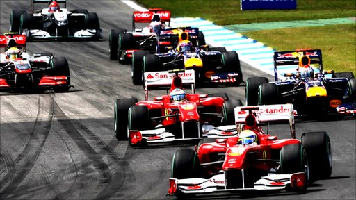 Ferrari lead the way at the 2010 German Grand Prix
