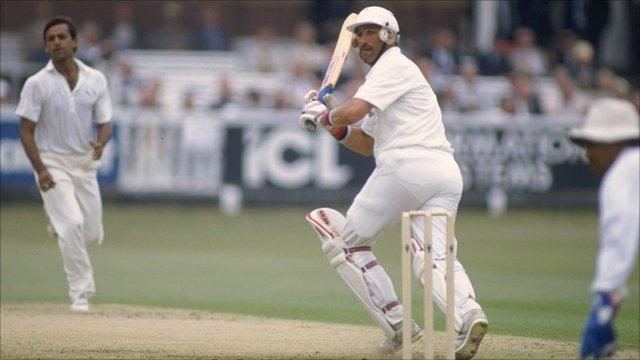 BBC Sport - Cricket - India in England: Gooch scores 333 in 1990