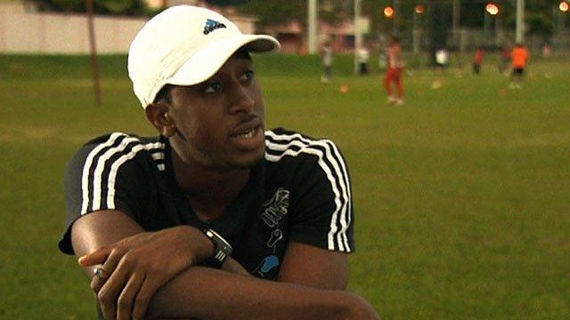 Trinidad & Tobago hurdler Jehue Gordon