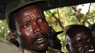 Rebel leader Joseph Kony
