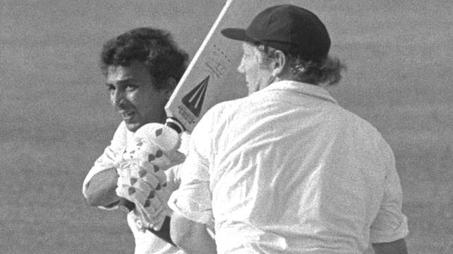 Sunil Gavaskar at The Oval in 1979