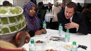 David Cameron at Boardsley Centre Birmingham
