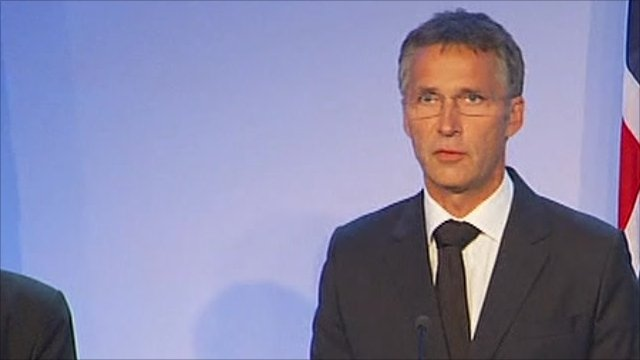 Prime Minister Jens Stoltenberg