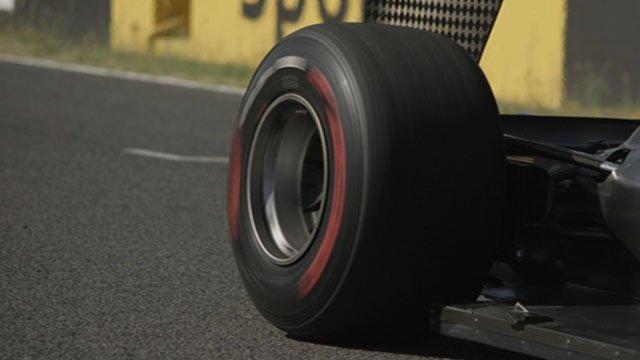 An F1 tyre
