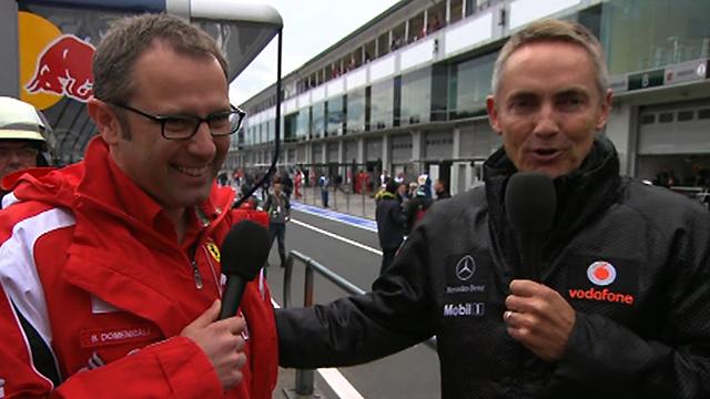 McLaren team principal Martin Whitmarsh and Ferrari team boss Stefano Domenicali