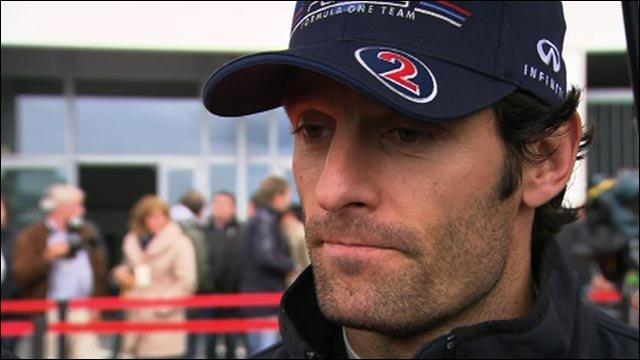 Red Bull's Mark Webber
