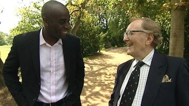 Phil Gayle and Robert Hardy