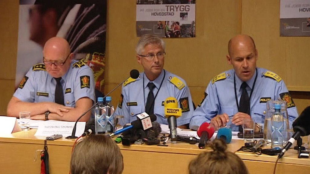 Norway police conference