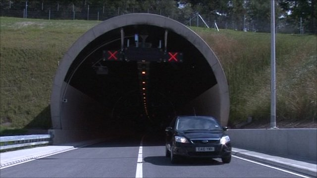 New A3 tunnel