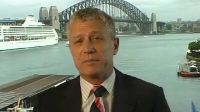 Michael McCarthy of CMC Markets in Sydney