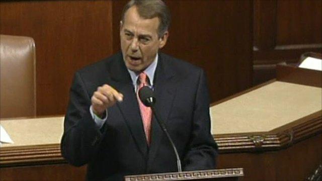 House of Representatives Speaker John Boehner