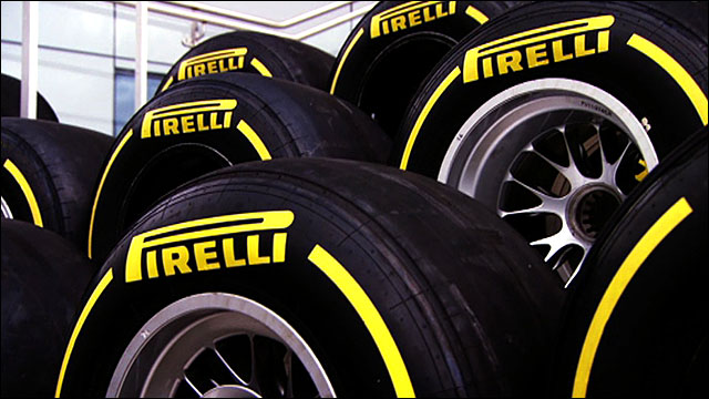 How many tyres does an F1 driver use over a season?