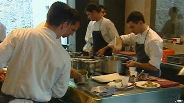 Chefs at El Bulli